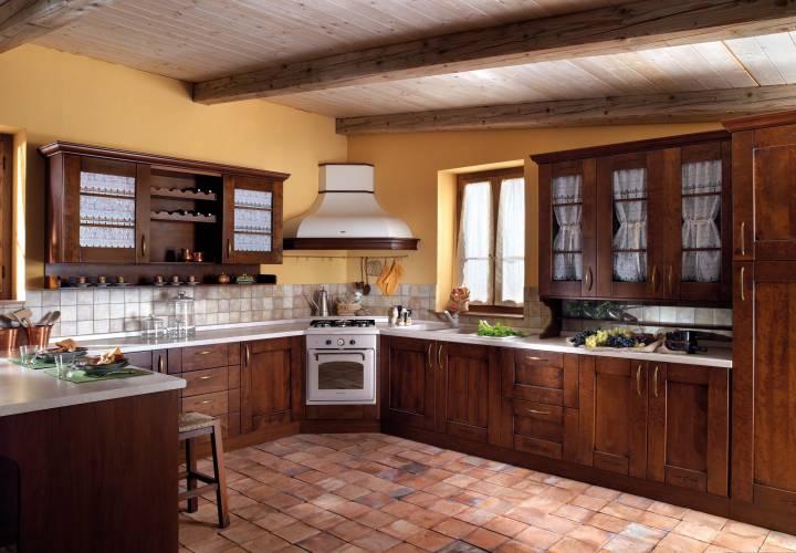 Cucina classica borgo vendita di cucine a roma - Cucine americane foto ...